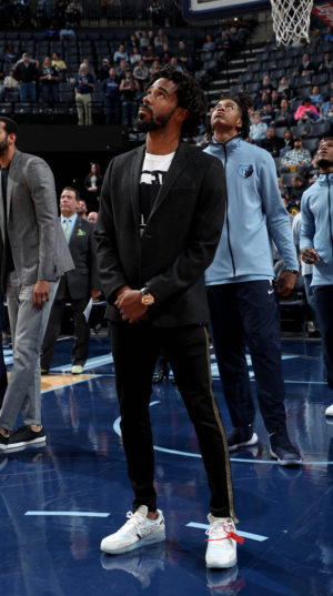 MEMPHIS, TN - DECEMBER 4: of the Memphis Grizzlies shoots against the Minnesota Timberwolves on December 4, 2017 at FedExForum in Memphis, Tennessee. NOTE TO USER: User expressly acknowledges and agrees that, by downloading and or using this photograph, User is consenting to the terms and conditions of the Getty Images License Agreement. Mandatory Copyright Notice: Copyright 2017 NBAE (Photo by Joe Murphy/NBAE via Getty Images)